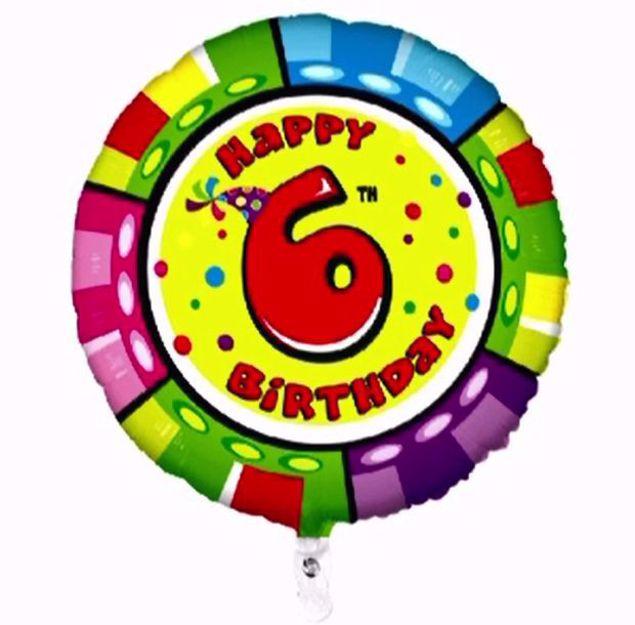 """Bild von Folienballon Animaloons """"6"""""""