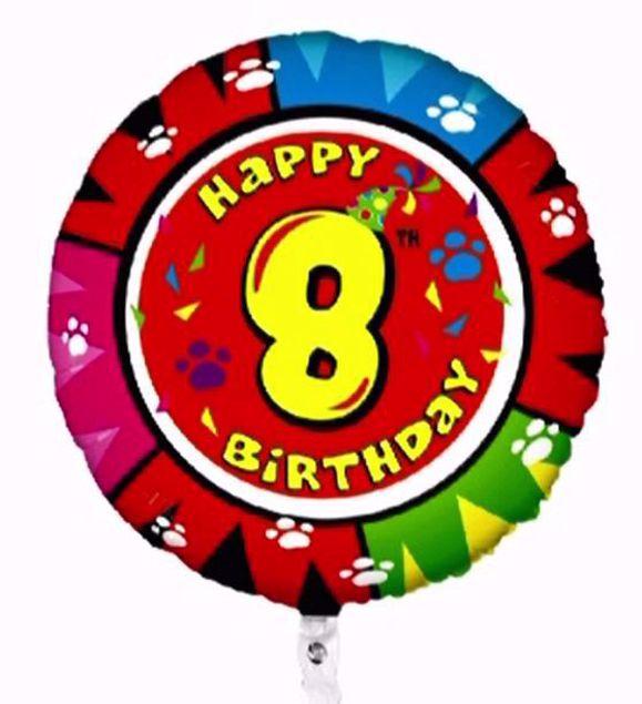 """Bild von Folienballon Animaloons """"8"""""""