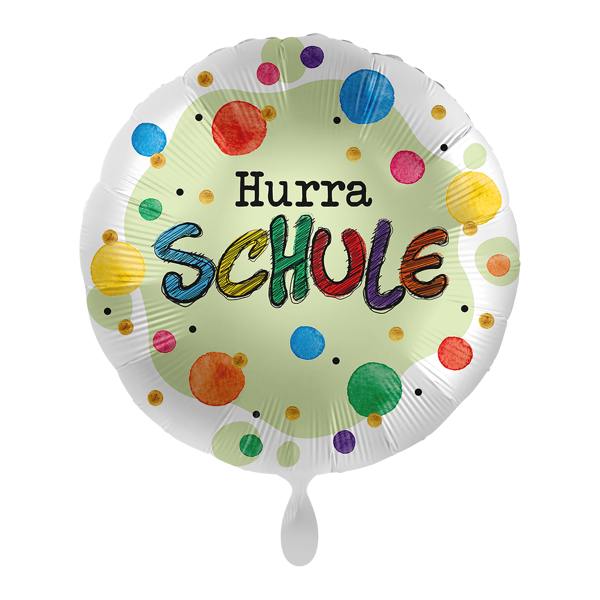 "Picture of Folienballon ""Hurra Schule"""