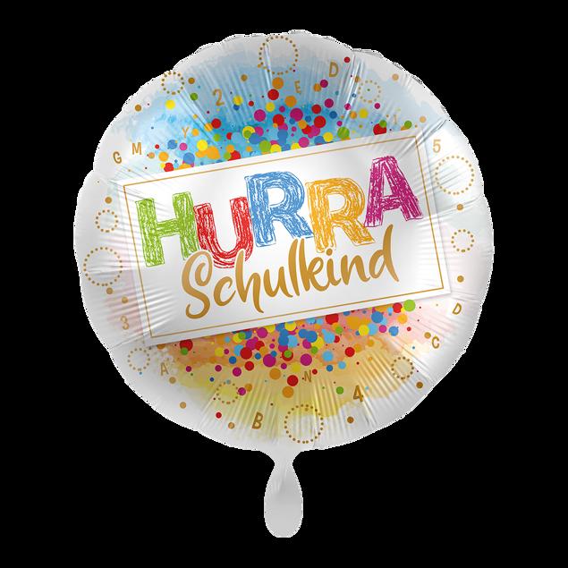 """Bild von Folienballon """"Hurra Schulkind"""""""