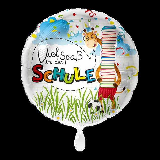 """Bild von Folienballon """"Viel Spaß in der Schule"""""""