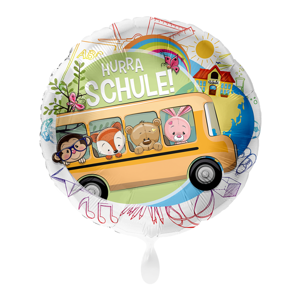 Picture of Folienballon Schulbus