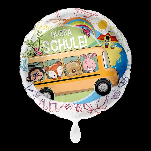 Bild von Folienballon Schulbus