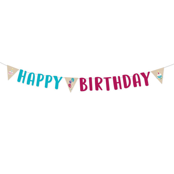 """Picture of Partykette """"Happy Birthday"""""""
