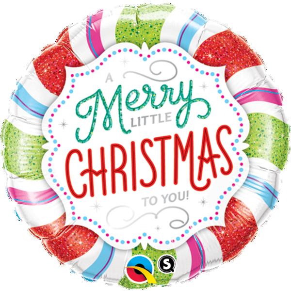 "Picture of Folienballon ""Merry Little Christmas"""