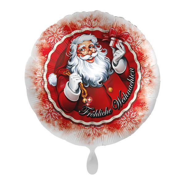 Picture of Folienballon Weihnachtsmann mit Geschenk