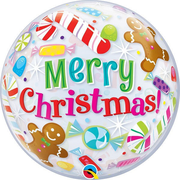 Picture of Bubble Merry Christmas