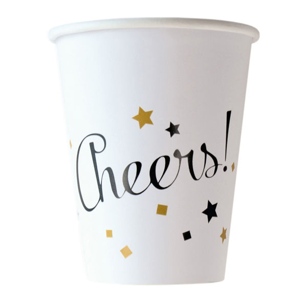 Picture of 8 Becher Golden Wishes