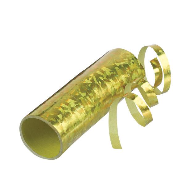 Picture of Luftschlange Holografie gold
