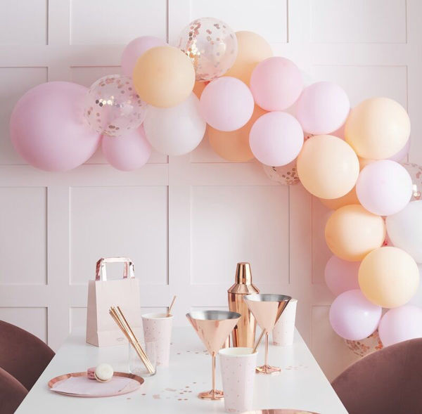 Picture of Pastel Blush Ballongirlanden Set