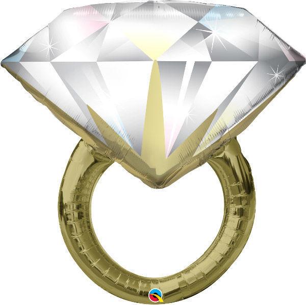 Picture of Folienballon DIAMOND WEDDING RING