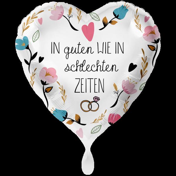 """Picture of in guten wie in schlechten zeiten Folienballon 28"""" XXL"""