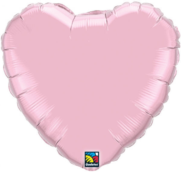 Picture of Folienballon Herz 90cm Pearl Pink