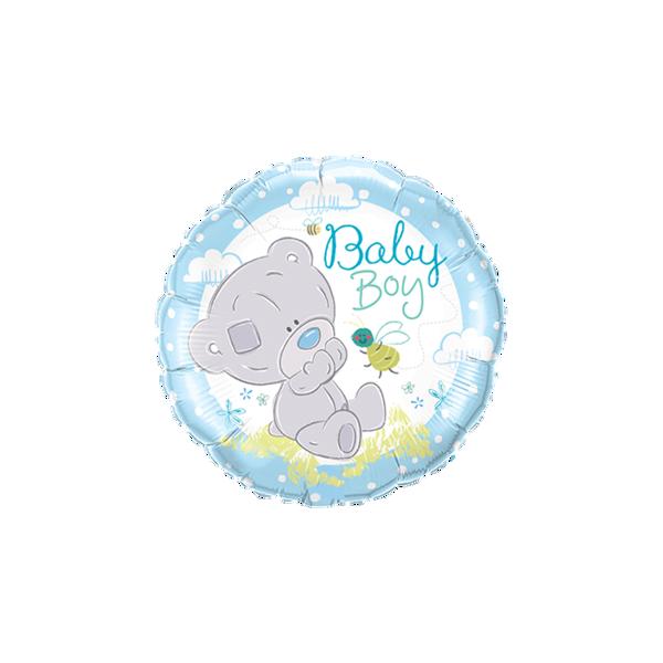 "Picture of Teddy Baby Boy Folienballon 18"""