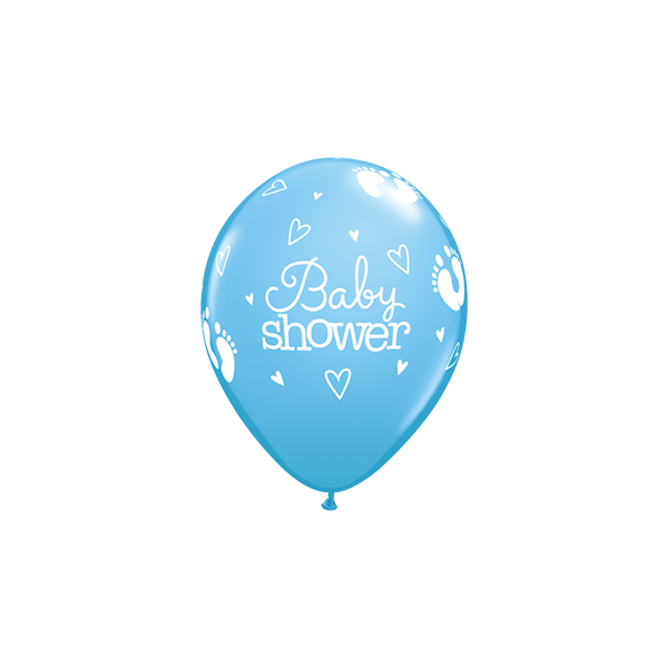 Picture of Latexballon Baby shower blau 11 inch