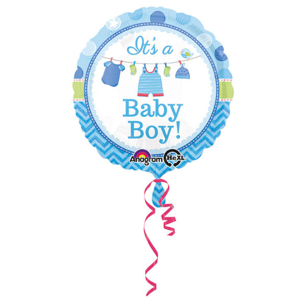 Picture of It's a baby boy Folienballon 18""
