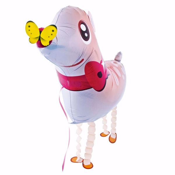 Picture of Folienballon Airwalker Reh mit Schmetterling
