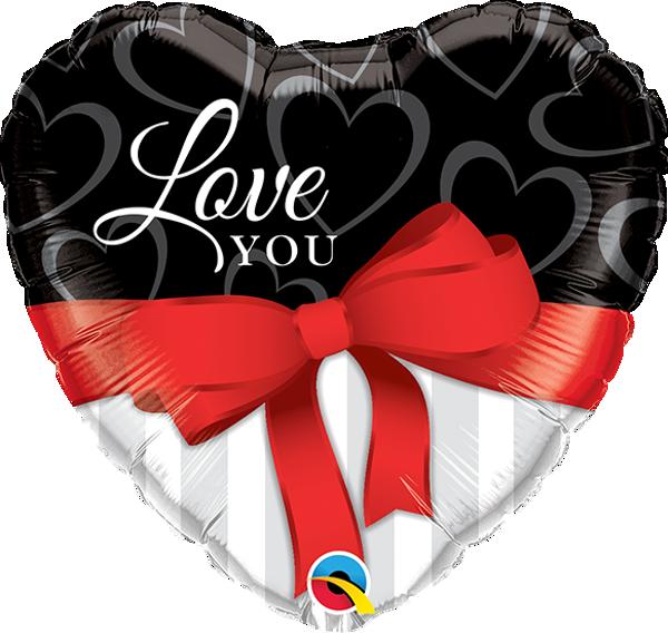 """Picture of Folienballon 36"""" LOVE YOU"""