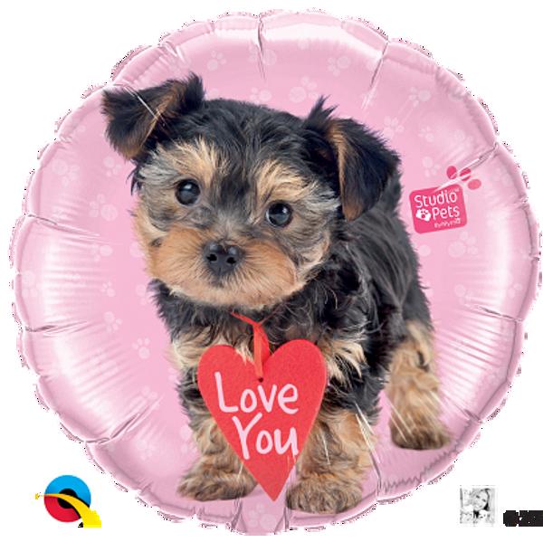 "Picture of Folienballon 18 "" Terrier ""Love You"""