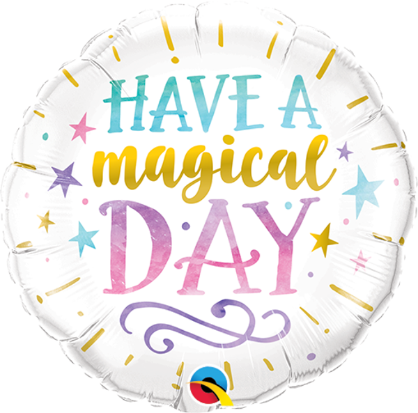 """Picture of HAVE A MAGICAL DAY Folienballon 18"""""""