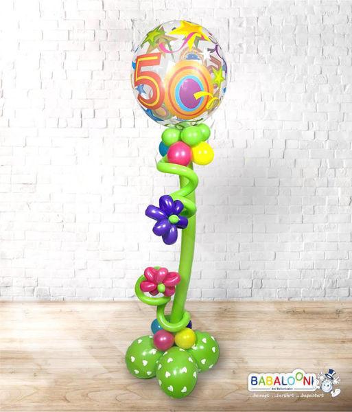 Picture of Bubble-Arrangement mit Ballonblumen