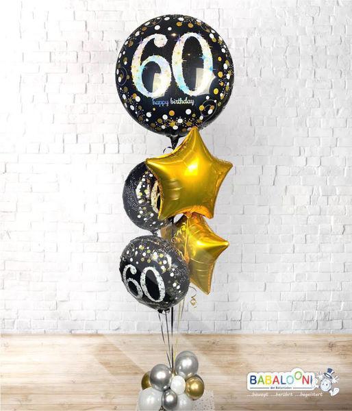 Picture of Ballon Bouquet Runder Geburtstag mit Ballonwolke