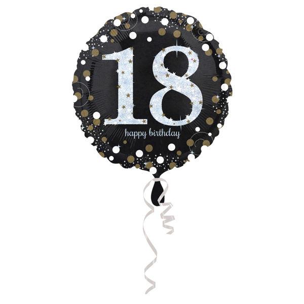Picture of Sparkling Birthday 18 Folienballon