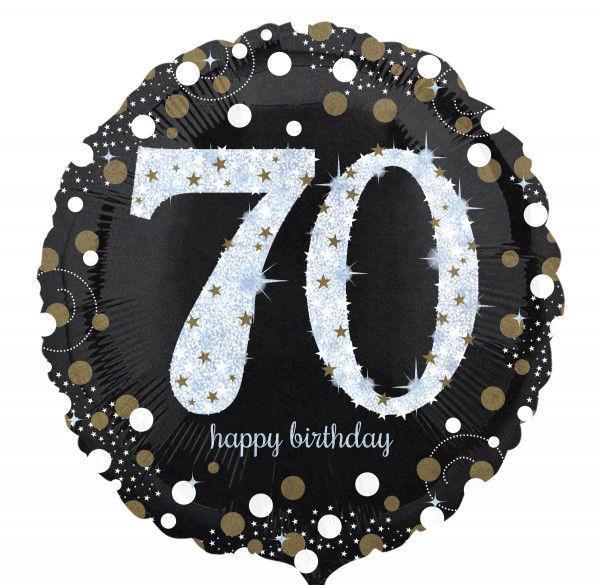 Picture of Sparkling Birthday 70 Folienballon