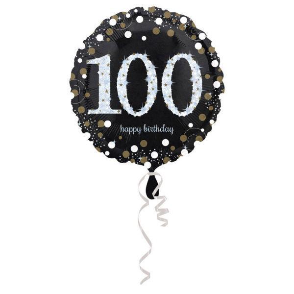 Picture of Sparkling Birthday 100 Folienballon