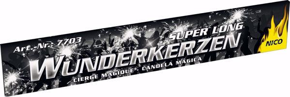 Picture of Super Long Wunderkerzen 10 Stück