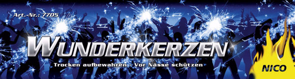 Picture of Wunderkerzen 10 Stück