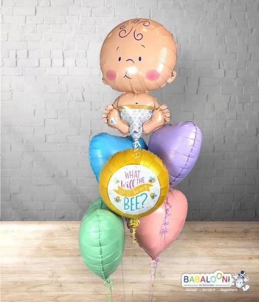 Picture of Babyshower Ballonarrangement