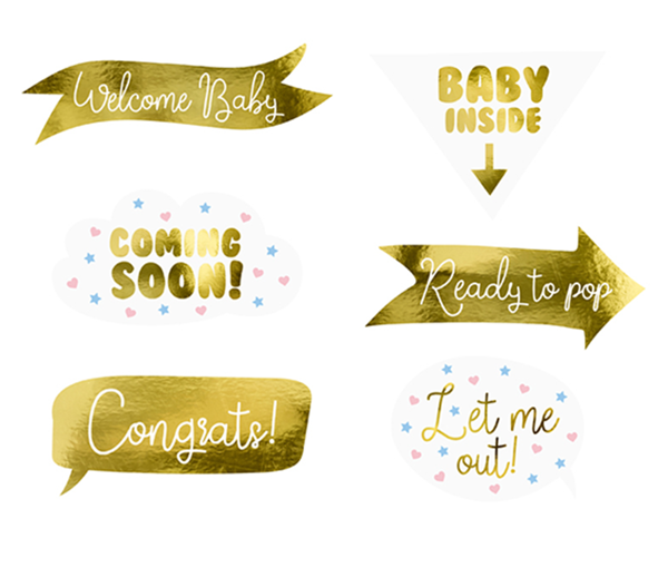 Picture of Photobooth Set - Baby Party