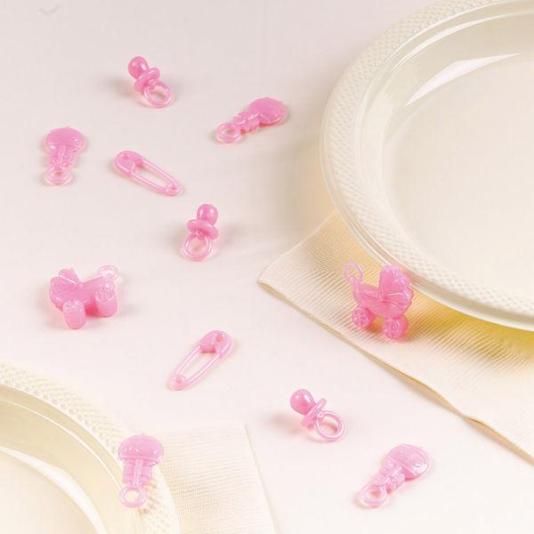 Picture of 25 Mini-Tischdekorationen Baby Girl