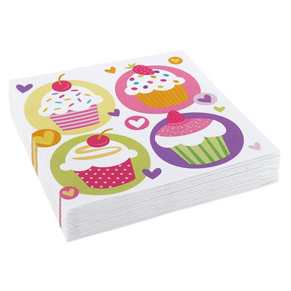 Picture of 20 Servietten Cupcake