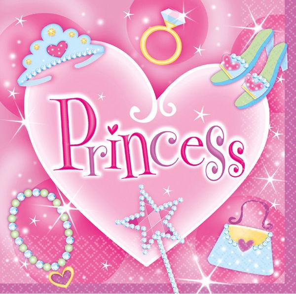 Picture of 16 Servietten Princess