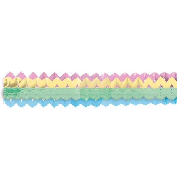 Picture of 2 Garlands Mini Pastel Rainbow