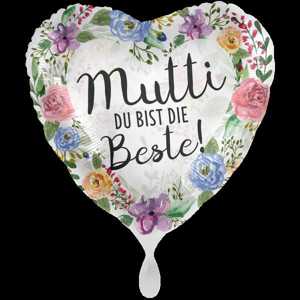"""Picture of Beste Mutti Folienballon 17"""""""