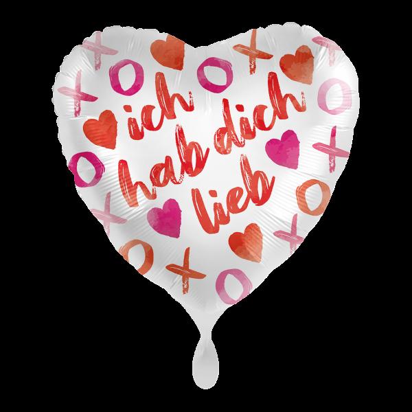 """Picture of XOXO Love Folienballon 17"""""""