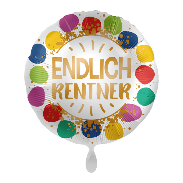 Picture of Endlich Rentner Folienballon 17""