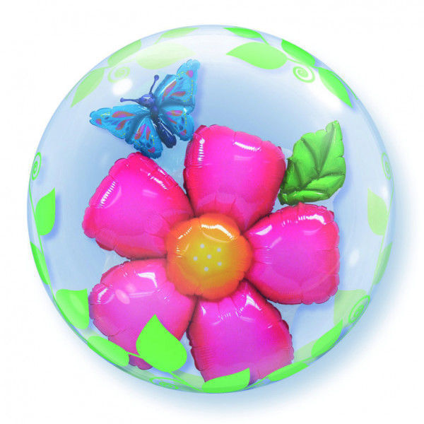 """Picture of LEAVES FLOWER Double Bubble 24"""""""