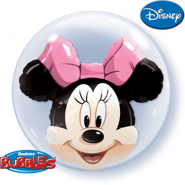 """Picture of MINNIE MOUSE Double Bubble 24"""""""