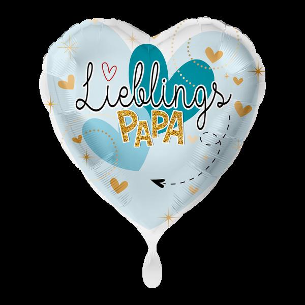 "Picture of Lieblingspapa Folienballon 17"""