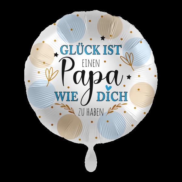 """Picture of Papa Glück Folienballon 17"""""""