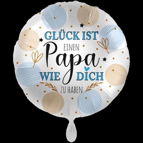 "Picture of Papa Glück Folienballon XXL 28"""