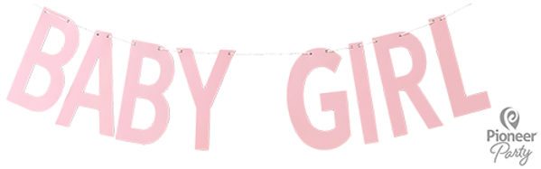 Picture of Banner Baby Girl Pink 2m