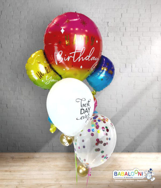 Picture of Colorful Birthday Arrangement