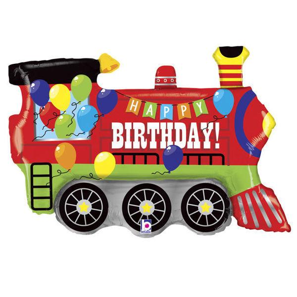 Picture of Birthday Party Train - Folienballon